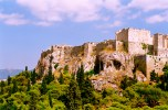 Apparently, the Acropolis is situated near a spring, making the citadel there much greener than the desolate landscape surrounding the city of Athens.