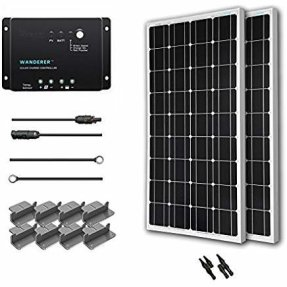 200W Solar Panel System