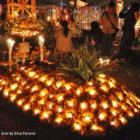 DÍA DE MUERTOS EN MÉXICO OFRENDAS AZTECAS Y OFRENDAS CRISTIANAS