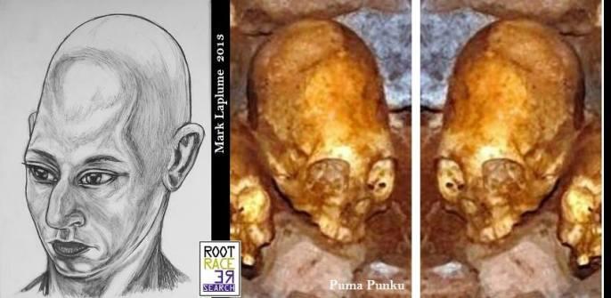 Cráneos muy largos en Puma Punku