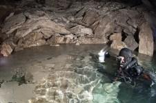 Entrando a la Cueva de Orda Rusia