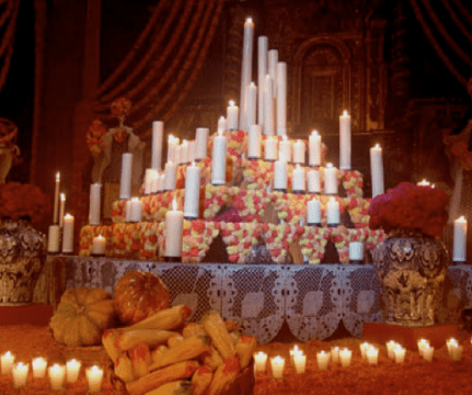 Ofrenda de Día de Muertos