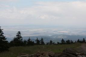 Auf dem Gipfel: Man sieht weit ins Land hinaus