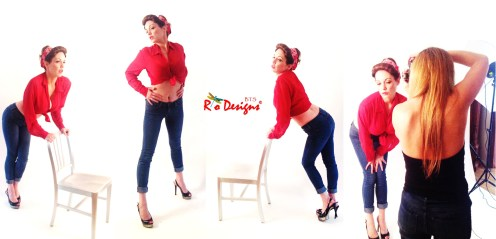 Collage Red BTS 1