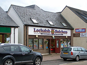 English: Lochalsh Butchers Located in Station ...