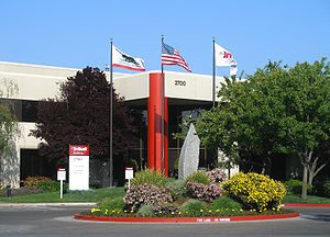 The headquarters of Intuit Inc. in Mountain Vi...