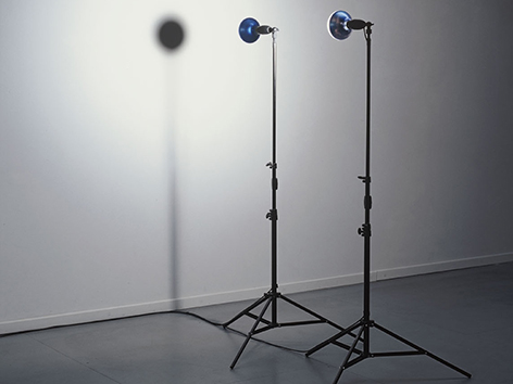 2000 l Dieter Kiessling l 2 Lampen l Foto Dieter Kiessling