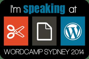 WordCamp Sydney September 27-28, 2014