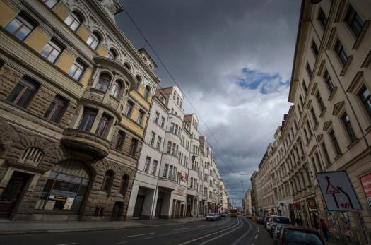 Die Jahnallee; Foto: Andreas Reichelt