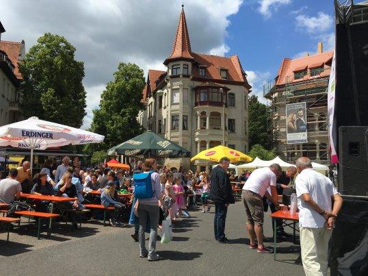 25. Großes Funkenburgfest, Foto: M. Geißler