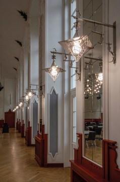Beleuchtung im Weißen Saal