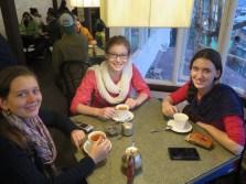 Jamie's first cup of Darjeeling tea