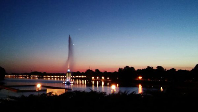 Ada Ciganlija By Night