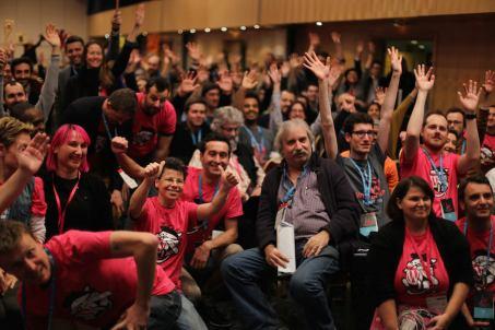 WordCamp Paris (Photo by Manuel Schmalstieg)