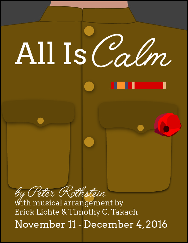 All is Calm - Flyer