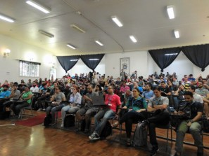 Auditório principal do WordCamp São Paulo 2015