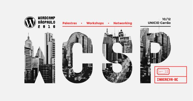 Inscreva-se no WordCamp São Paulo 2016
