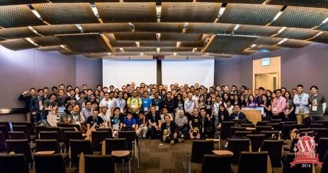 WordCamp Singapore 2016 Group Photo