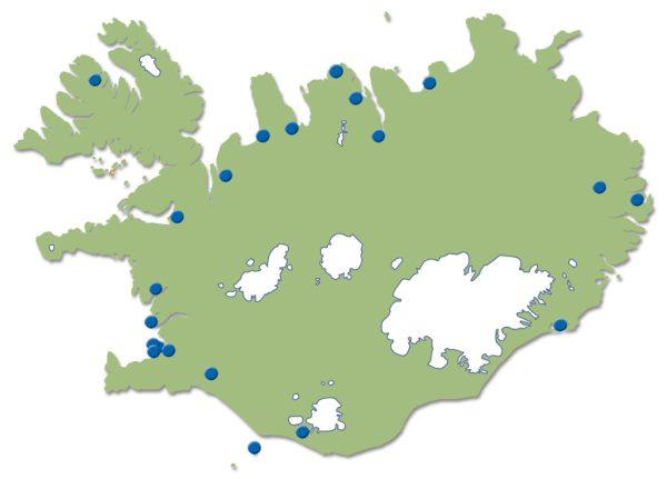 Héraðsskjalasöfnin á Íslandi.