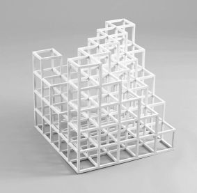 Cubic construction, 1971, Sol LeWitt