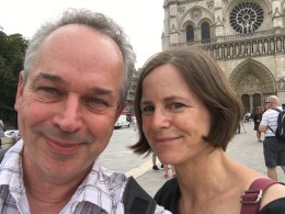Outside Notre Dame