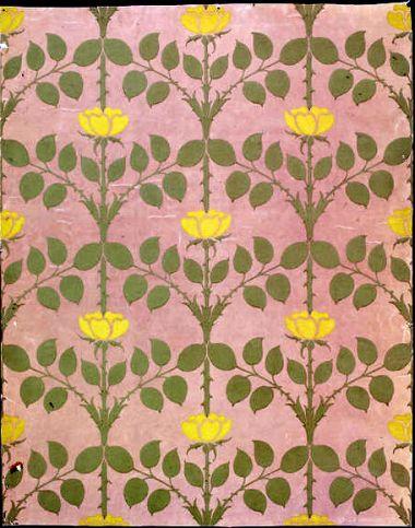 yellow-roses-briar-wallpaper-cfa-voysey-1901