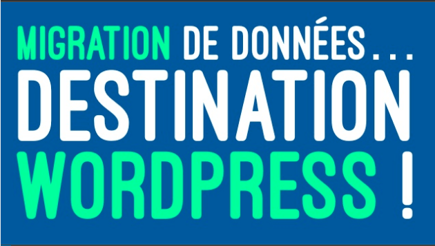 Slides Willy Bahuaud WordCamp Bordeaux 2017 - Migration de données… Destination WordPress !