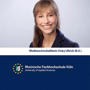 Medien Wirtschaftlerin Vicky Ullrich (M.A.)