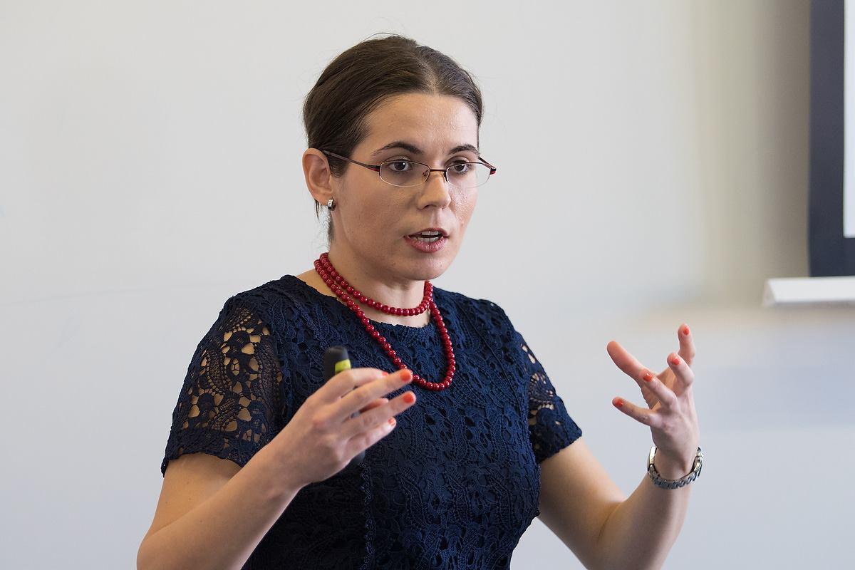 Speaker announcement: Alexandra Draghici