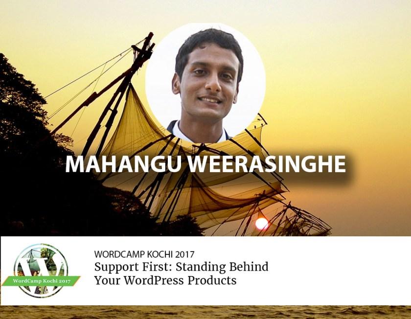 Mahangu Weerasinghe