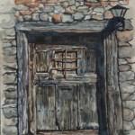 Ancient Door in Calatanazor, Spain