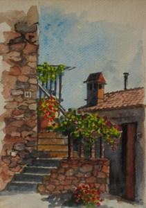Floral Steps of San Lorenzo a Merse