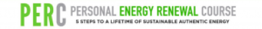 PERC - the Personal Energy Renewal Course