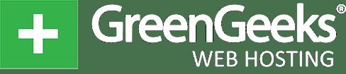 GreenGeeks logo white