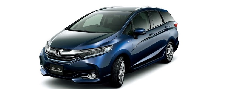 2016 Honda Fit Shuttle front view