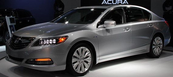 2017 Acura RLX front view