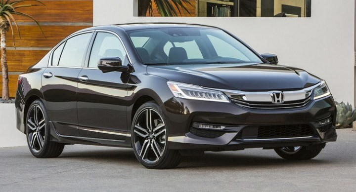 2017 Honda Accord front view