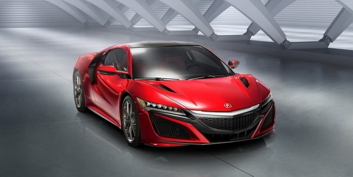 2017 Acura NSX Type R front view