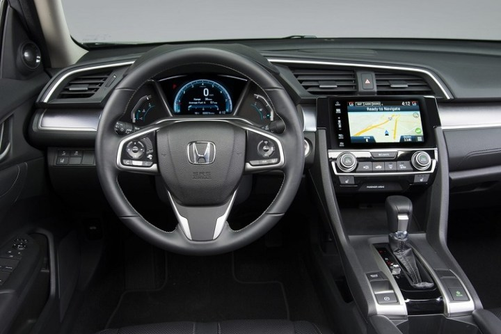2017 Honda Civic Hybrid interior - Copy