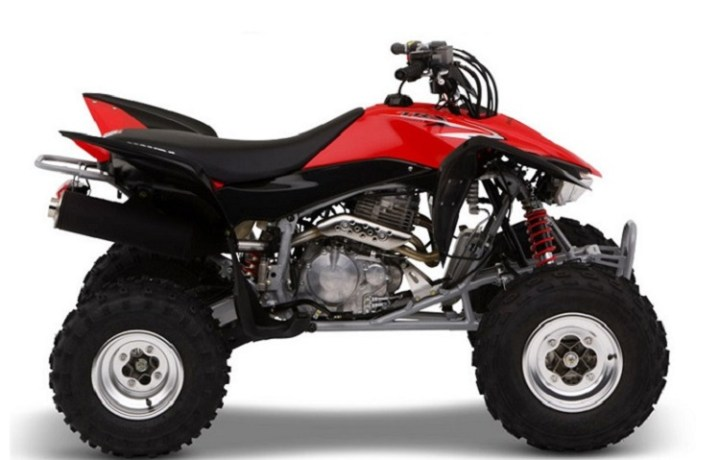2016 Honda TRX400X side view