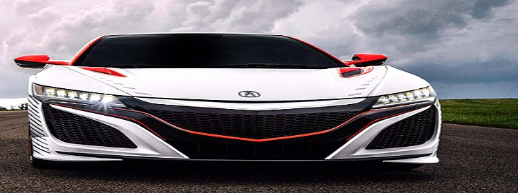 2017 acura nsx gt front view