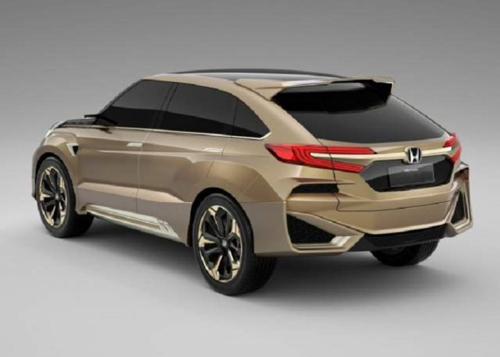 2018 Honda Crosstour rear view