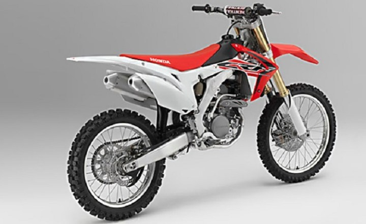 2017 Honda CRF150F rear view