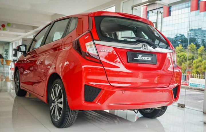 2019 Honda Jazz rear
