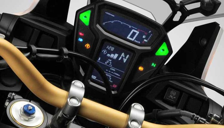 2018 Honda Africa Twin display