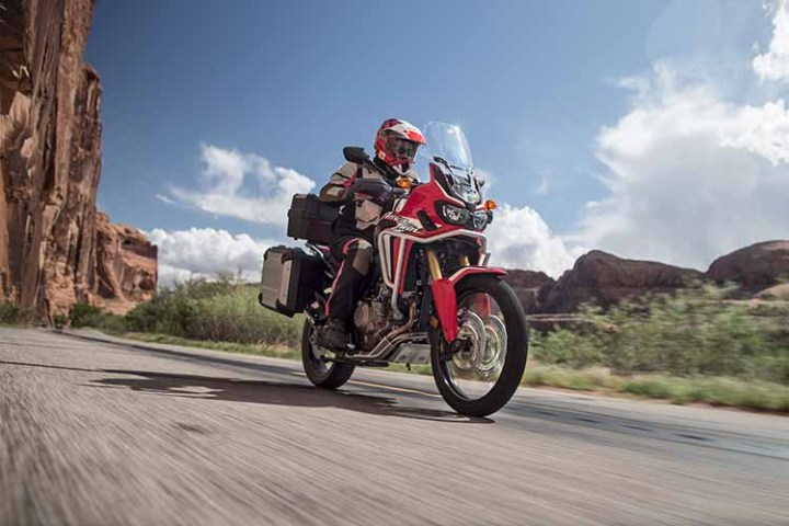 2018 Honda Africa Twin ride