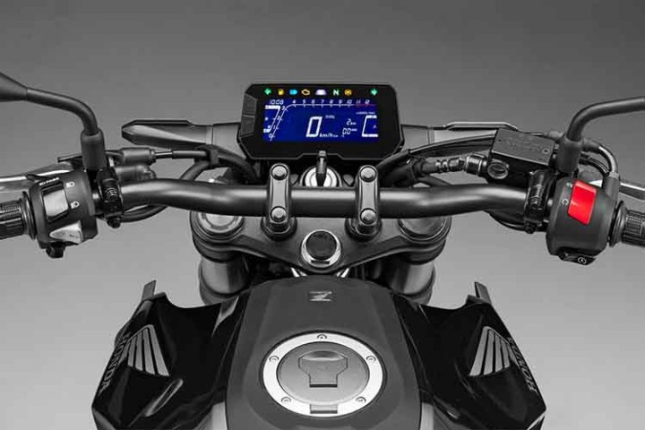2018 Honda CB300F instrument panel