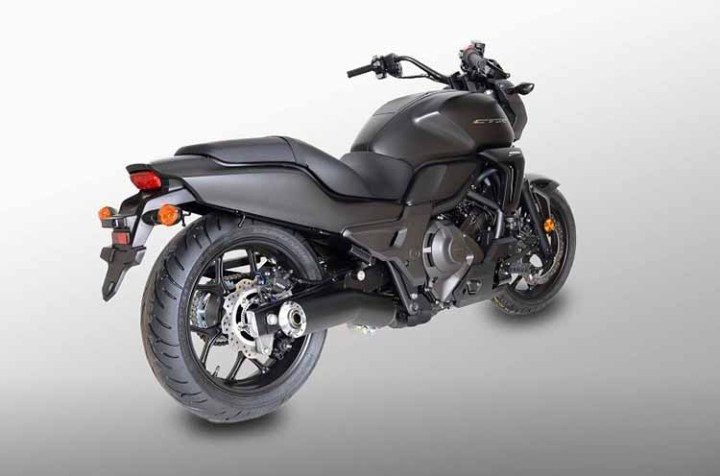 2018 Honda CTX700 rear