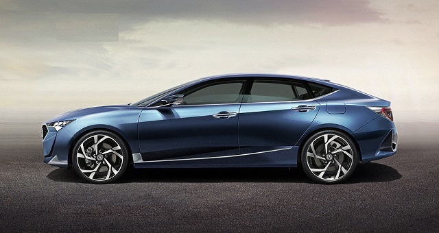 2019 Acura ILX side view