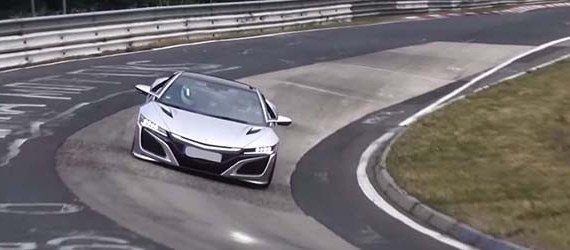 2019 Acura NSX Type-R test